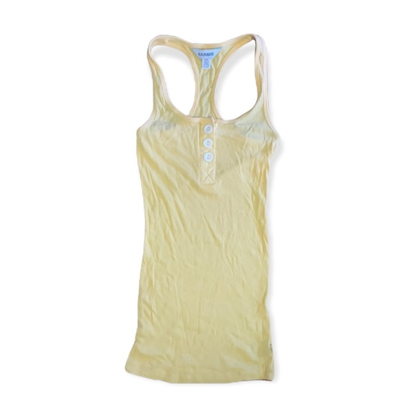 3 for $20 Garage Yellow Tank top